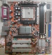 Материнская плата (не рабочая) Foxconn 6100K8MB Rev. 1.0